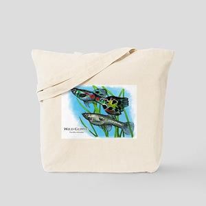 Wild Guppies Tote Bag
