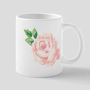 Single Vintage Rose Mugs