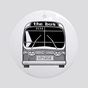 """""""The Bus"""" Ornament (round)"""