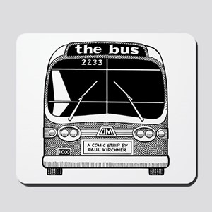 """the bus"" Mousepad"