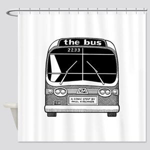 """the bus"" Shower Curtain"