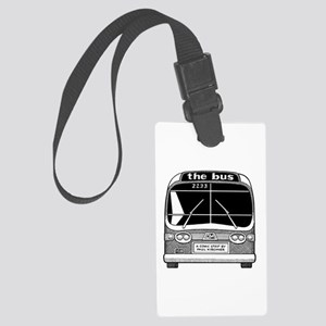 """""""The Bus"""" Large Luggage Tag"""