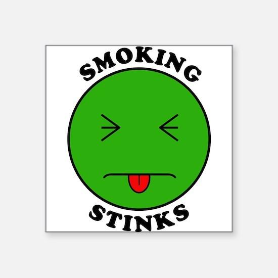 Smoking Stinks Sticker