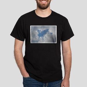 Sky Cat Dark T-Shirt