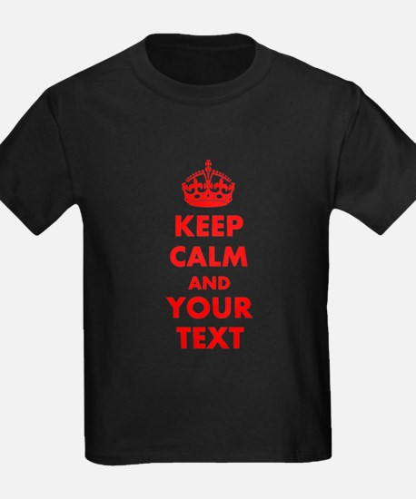 Personalized Keep Calm and carry T