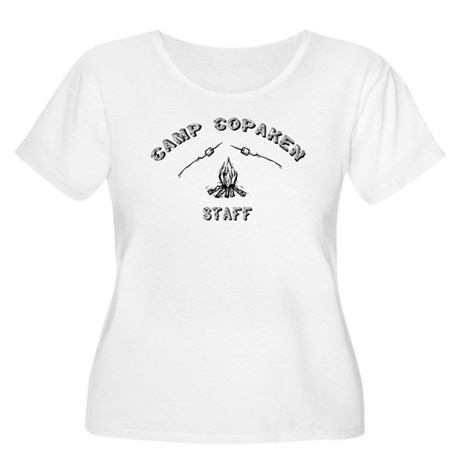 Camp Copaken Wmn's + Size Scoop Neck T-Shirt