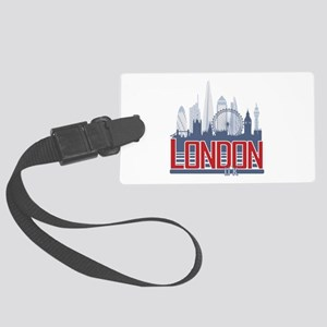 London Large Luggage Tag