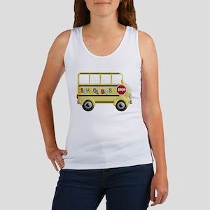 cute yellow school bus Tank Top