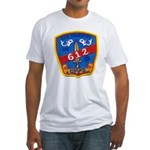 USS GUARDFISH Fitted T-Shirt