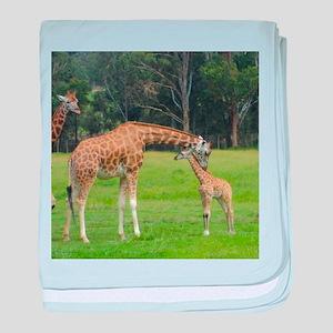 Baby Giraffe baby blanket