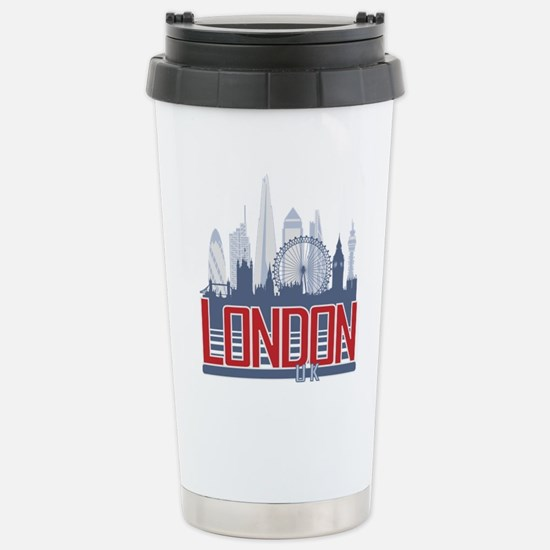 London Stainless Steel Travel Mug