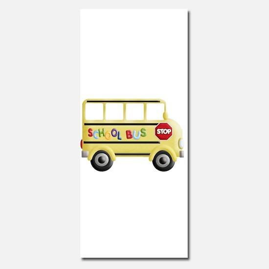 cute yellow school bus Invitations