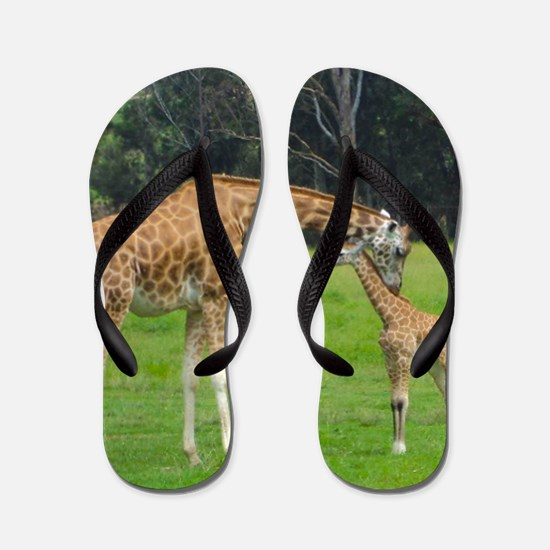Baby Giraffe Flip Flops