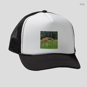 Baby Giraffe Kids Trucker hat