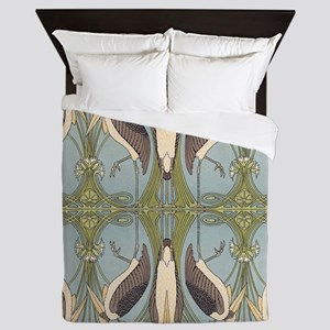 Storkish Queen Duvet