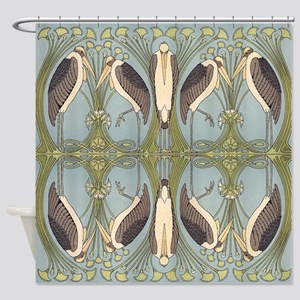 Storkish Shower Curtain