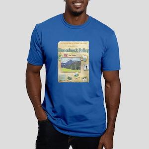 Monadnock Men's Fitted T-Shirt (dark)