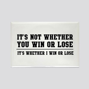 Whether win or lose Magnets