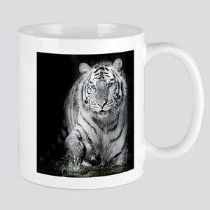 White Tiger Mugs