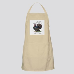 modern vintage fall turkey Apron