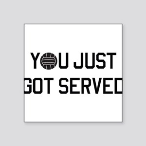 You got served vollyball Sticker