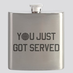 You got served vollyball Flask