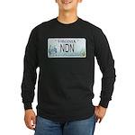 Virginia NDN Pride Long Sleeve Dark T-Shirt