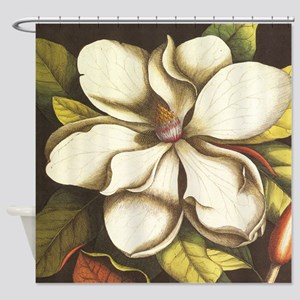 Magnolia Flower Shower Curtains Cafepress