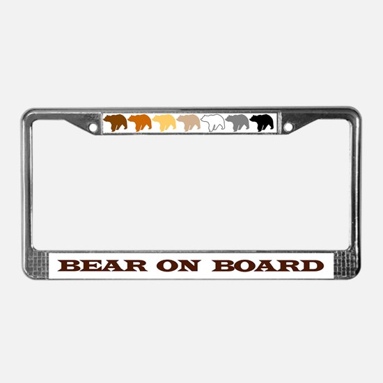 Cool Cub pride License Plate Frame