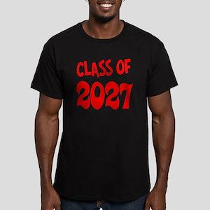 Class of 2027 Men's Fitted T-Shirt (dark)