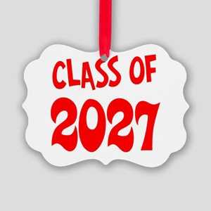 Class of 2027 Picture Ornament