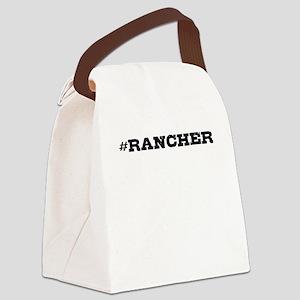 Rancher Hashtag Canvas Lunch Bag