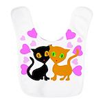 Kitty Cat Love Bib