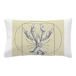 Vetruvian Crawfish1 Pillow Case