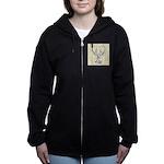 Vetruvian Crawfish1 Women's Zip Hoodie