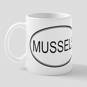 MUSSELS (oval) Mug