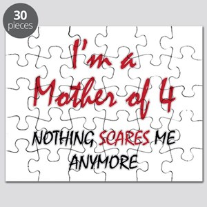 Nothing Scares Mom 4 Puzzle