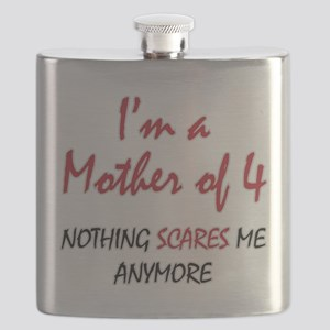 Nothing Scares Mom 4 Flask