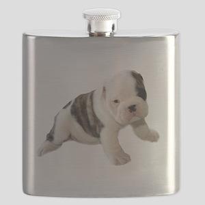 Murlane British Bulldog pup 2 Flask