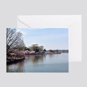 Blossoms in DC Greeting Card