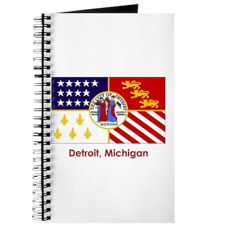 Detroit MI Flag Journal