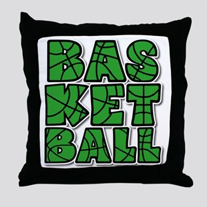 BASKETBALL CUBE Throw Pillow
