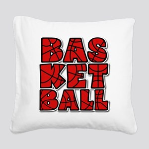 BASKETBALL CUBE Square Canvas Pillow
