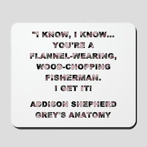 I KNOW, I KNOW... Mousepad