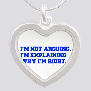 IM-NOT-ARGUING-fresh-blue Necklaces