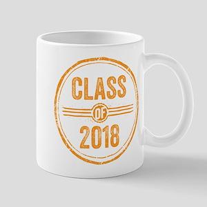 Stamp Class of 2018 Orange Mugs