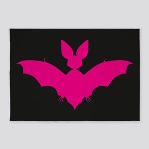 Bat 5'x7'Area Rug