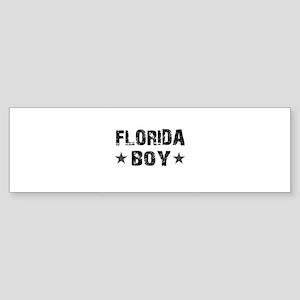 Florida Boy Bumper Sticker