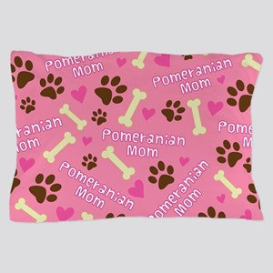 Pomeranian Mom Pillow Case