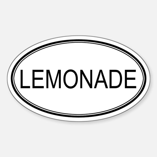 LEMONADE (oval) Oval Decal